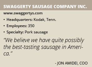 Swaggerty Sausage info