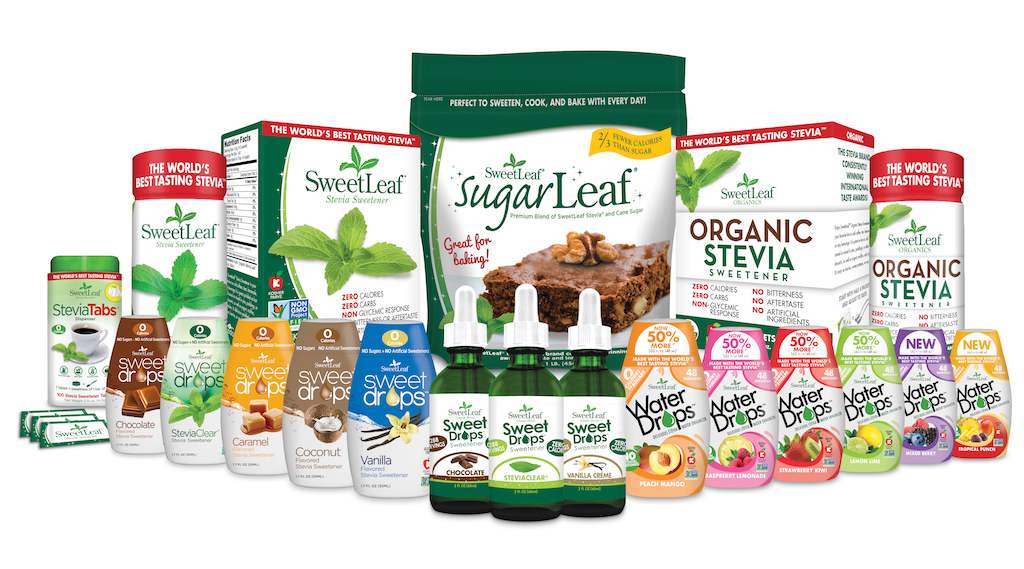 SweetLeaf Stevia products