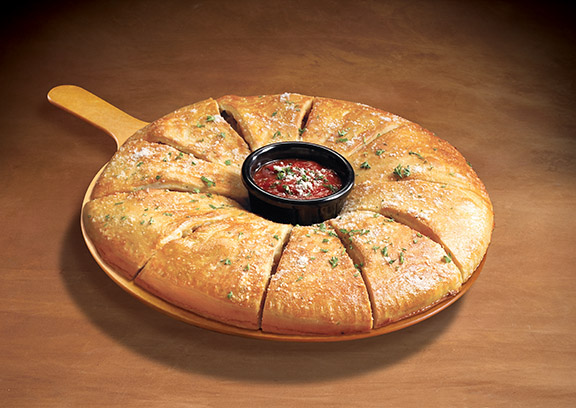 Mazzios calzone ring